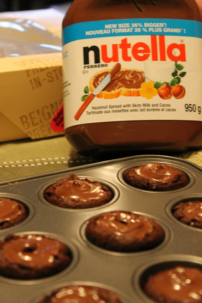 Two-Bite Nutella Chocolate Cookies Recipes — Dishmaps